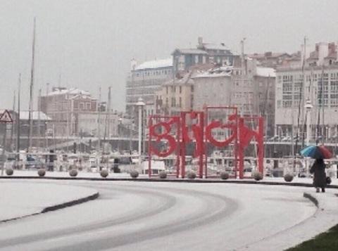 Medea Estilistas - La nieve llega a Gijón - Medea Estilistas